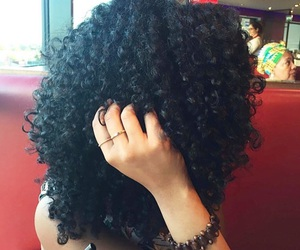bracelets, curly, and curly hair image