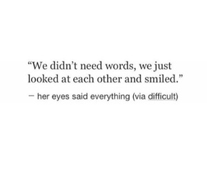 quote, smile, and words image