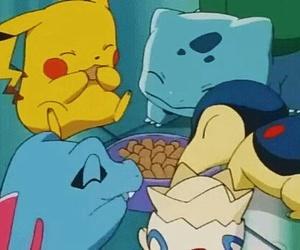 pokemon, bulbasaur, and pikachu image