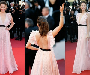 barbie, cannes, and dress image