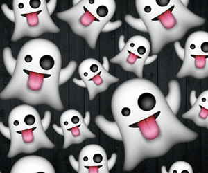 ghosts and emoji image
