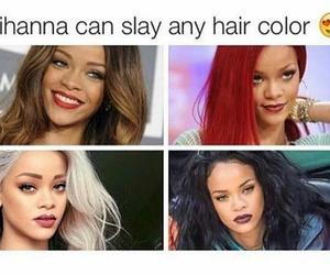 hair and rihanna image