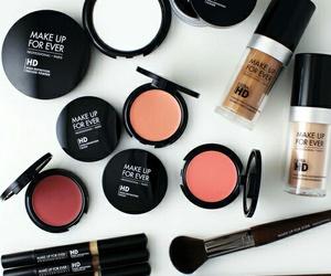 makeup, blush, and cosmetics image