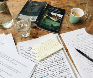 book, notes, and planner image