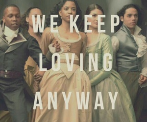 hamilton musical, anthony ramos, and leslie odom jr image