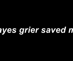 tumblr, hayesgrier, and grier image
