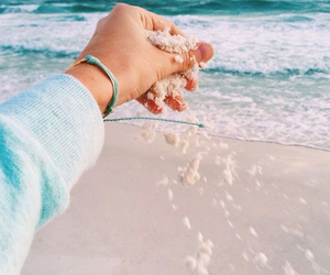 summer, sand, and beach image