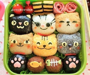 food, bento, and cute image