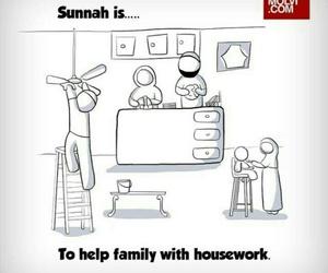 islam, sunnah, and family image