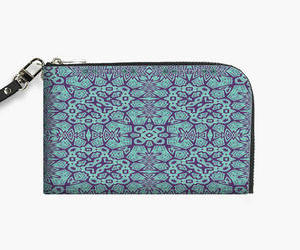 geometric, purse, and tribal design image