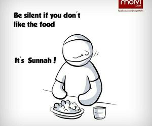 islam, sunnah, and food image