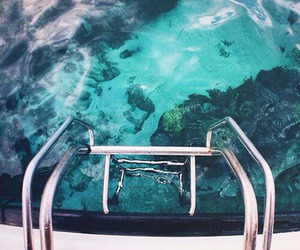 summer, water, and blue image
