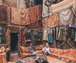 travel, carpet, and turkey image