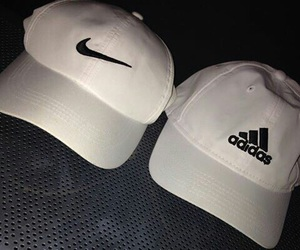 adidas, nike, and white image