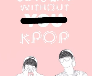 exo, kpop, and outline image