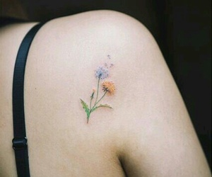 dandelion, flower, and small image