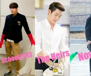 funny, kim woo bin, and heirs image