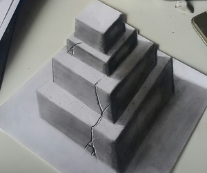 3d, art, and grey image