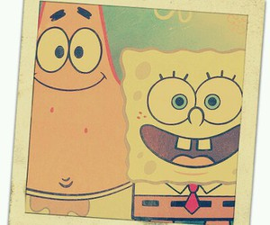 patrick, friends, and spongebob image