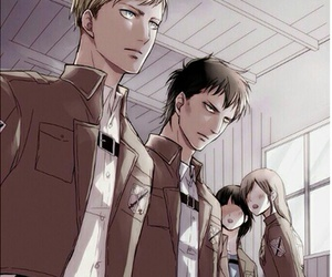 snk, attack on titan, and anime image