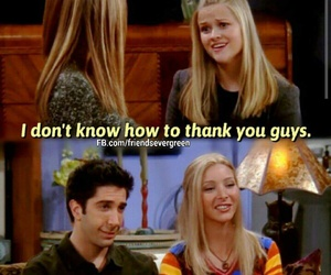 friends, chandler, and hilarious image