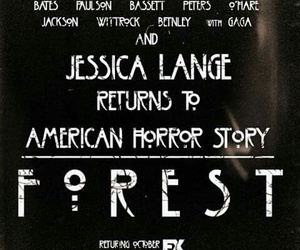 forest, serie, and ahs image