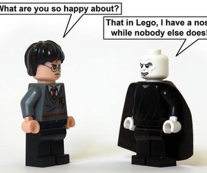 harry potter, lego, and funny image