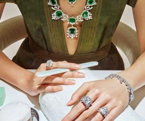 luxury, diamonds, and fashion image