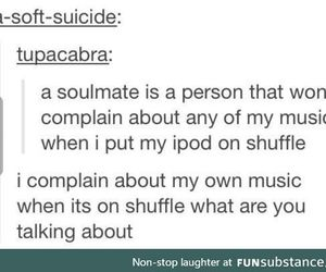 complain, ipod, and music image