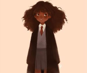 harry potter, hermione granger, and punziella image