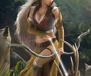 elf and fantasy image