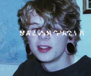 boy, salvia palth, and melanchole image