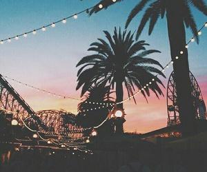 summer, light, and sunset image
