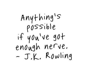 quote, jk rowling, and possible image