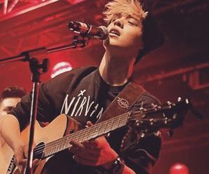 boy, guitar, and reece bibby image