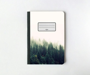 notebook and forest image