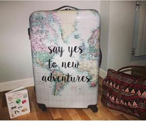 bag, travel, and plan image