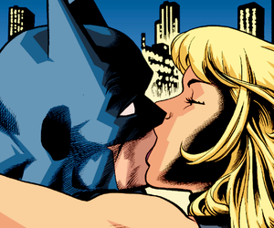 batman, dinah laurel lance, and Black Canary image