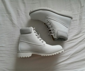 boots, fashion, and white image