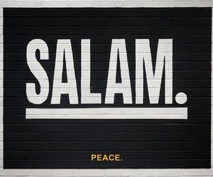 peace, salam, and islam image