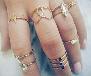 rings, nails, and jewelry image