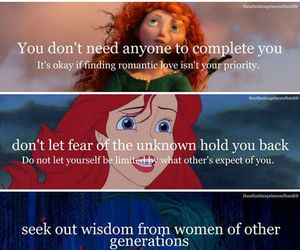 disney, girl, and message image