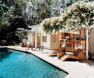 exterior, pool, and summer image