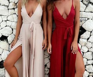 fashion, friend, and heels image