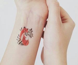 tattoo and fox image