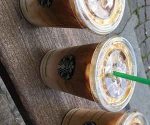 coffee, goals, and starbucks image