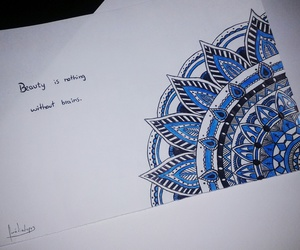 black, blue, and creative image