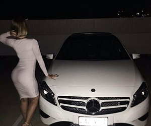 car, luxury, and dress image
