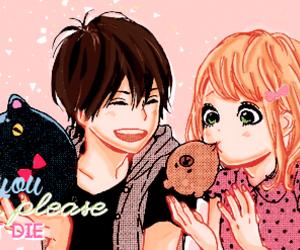 manga, orange, and shoujo image