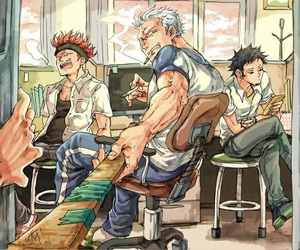 Law, one piece, and smoker image